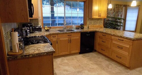 Wooden Kitchen U2014 Home Remodeling In Olympia, WA