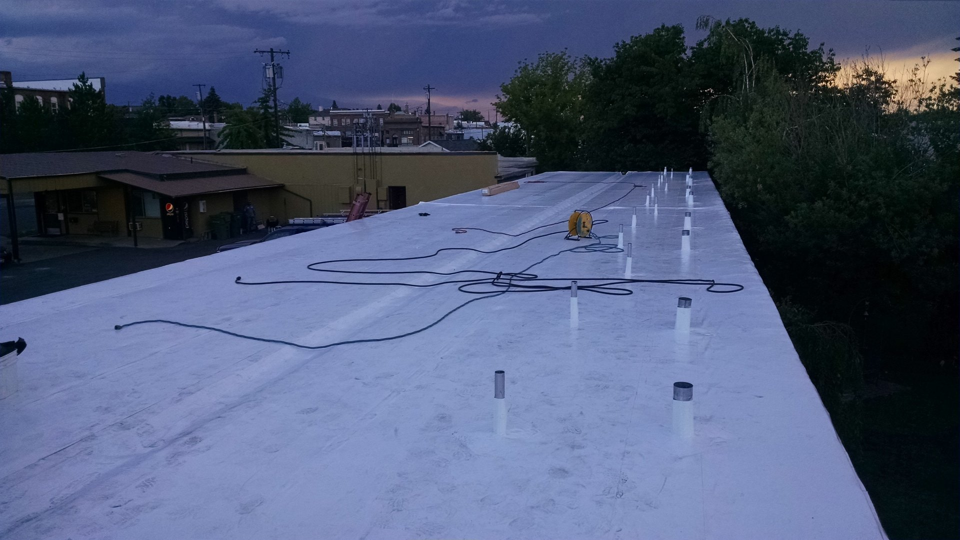 Flat Roof Systems Lewiston Id M And Ds Flat Roof Systems