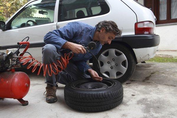 Tire Pressure 鈥� Air Compressor in Staten Island, NY