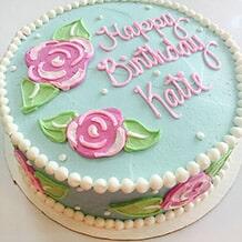Lilly Roses Birthday Cake