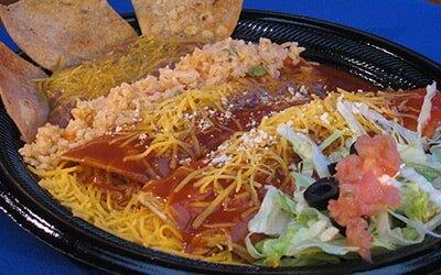 Enchiladas Menu San Diego Ca El Indio Mexican Restaurant