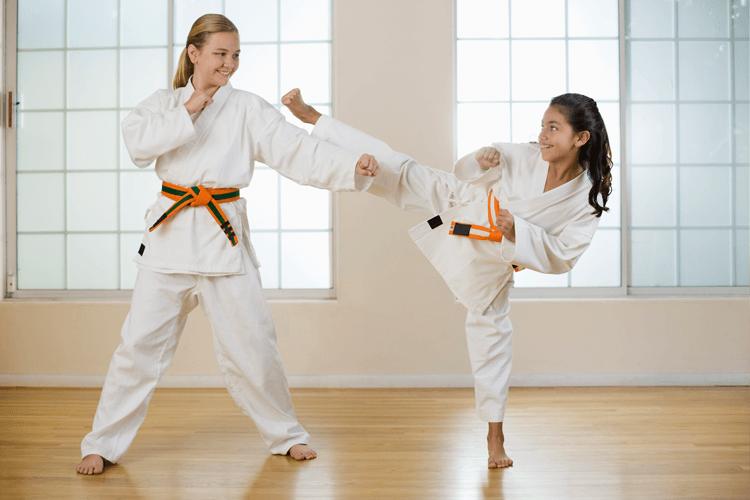 Taekwondo — Two Kids Havinf Fun in Colonia, NJ