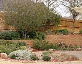 Custom Landscape Retaining Walls Railroad Tie Natural Stone