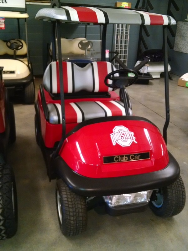 Upholstery Work | Weston, OH | Jazz It Upholstery on golf cart cover, golf cart floor mats, golf cart cargo boxes,