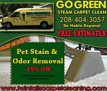 Go Green Carpet Cleaning In Twin Falls Id