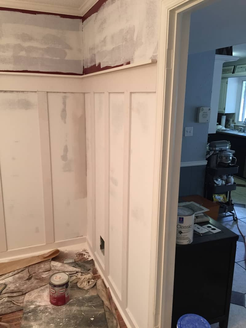 Wall Paint Removal — Removed Wallpaper Portrait in Olathe, KS