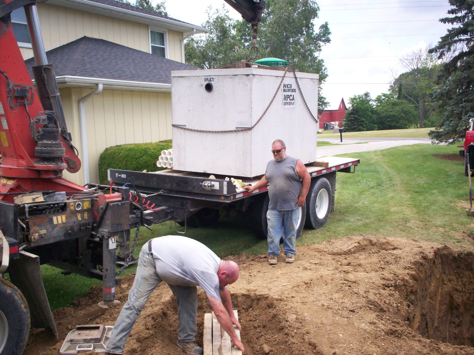 Septic Tank Maintenance Excavation Mansfield Oh Webb S Septic Tank Lacey Pasheilich Excavating