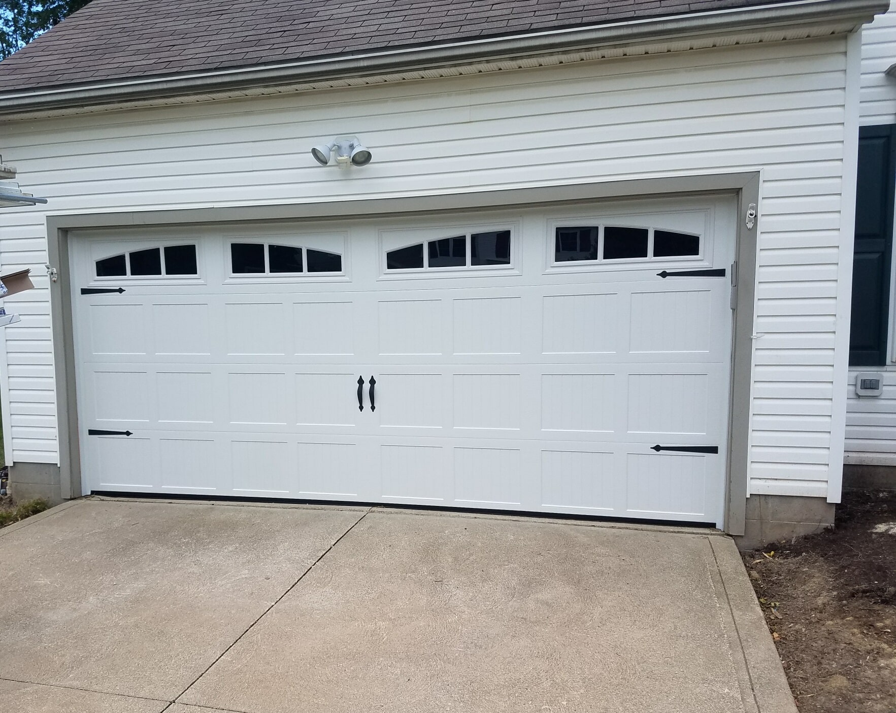 homes how door to paint real garage the a advice