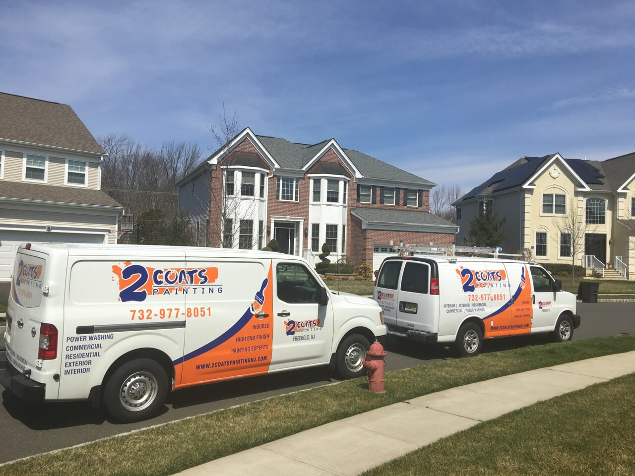 residential commercial painter jackson nj 2 coats painting