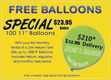 Balloon & Helium Service | Upland, CA | Balloons N More