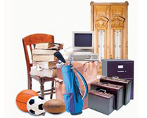 Household Items We Store Include:
