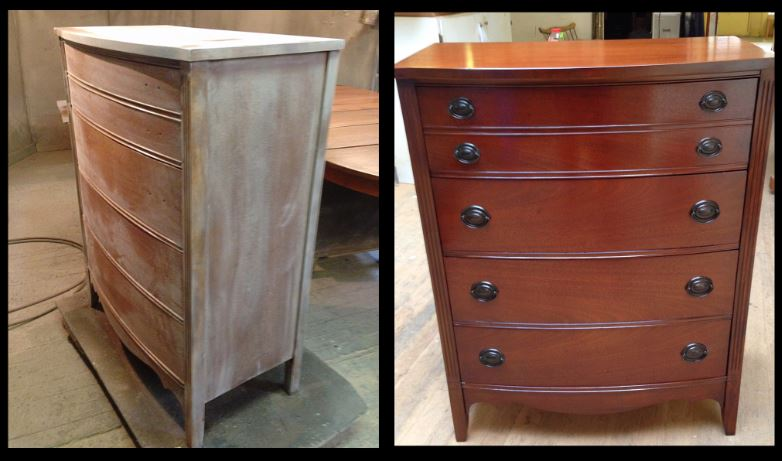 Beau Custom Wooden Cabinet   Antique Repair In Portland, OR