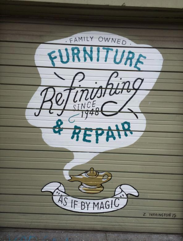 Storefront - Antique Repair in Portland, OR - Furniture Repair - Portland, OR - Aladdin Finishers Inc.