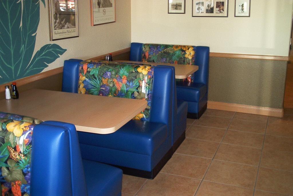 Custom Booths - Las Vegas, NV - Van Hoove Upholstery