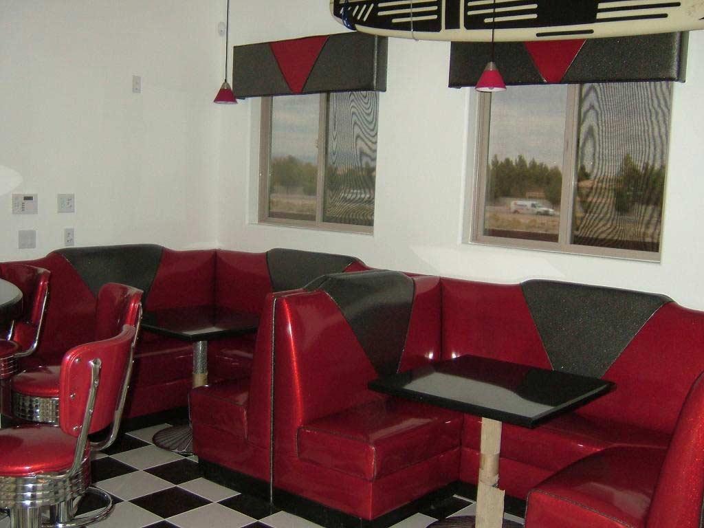 Custom Booths Las Vegas Nv Van Hoove Upholstery