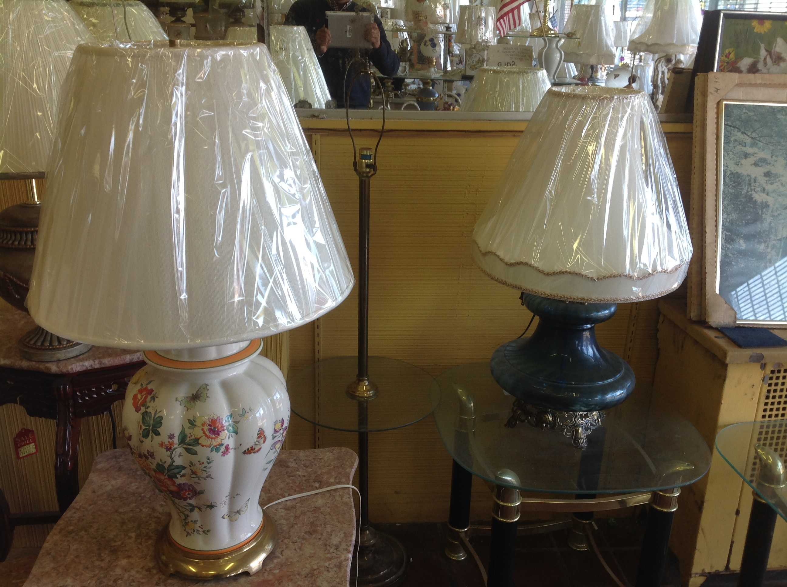 Lamp manufacture passaic nj liberty lamp shade company table lamps and lamp manufacturing greentooth Choice Image