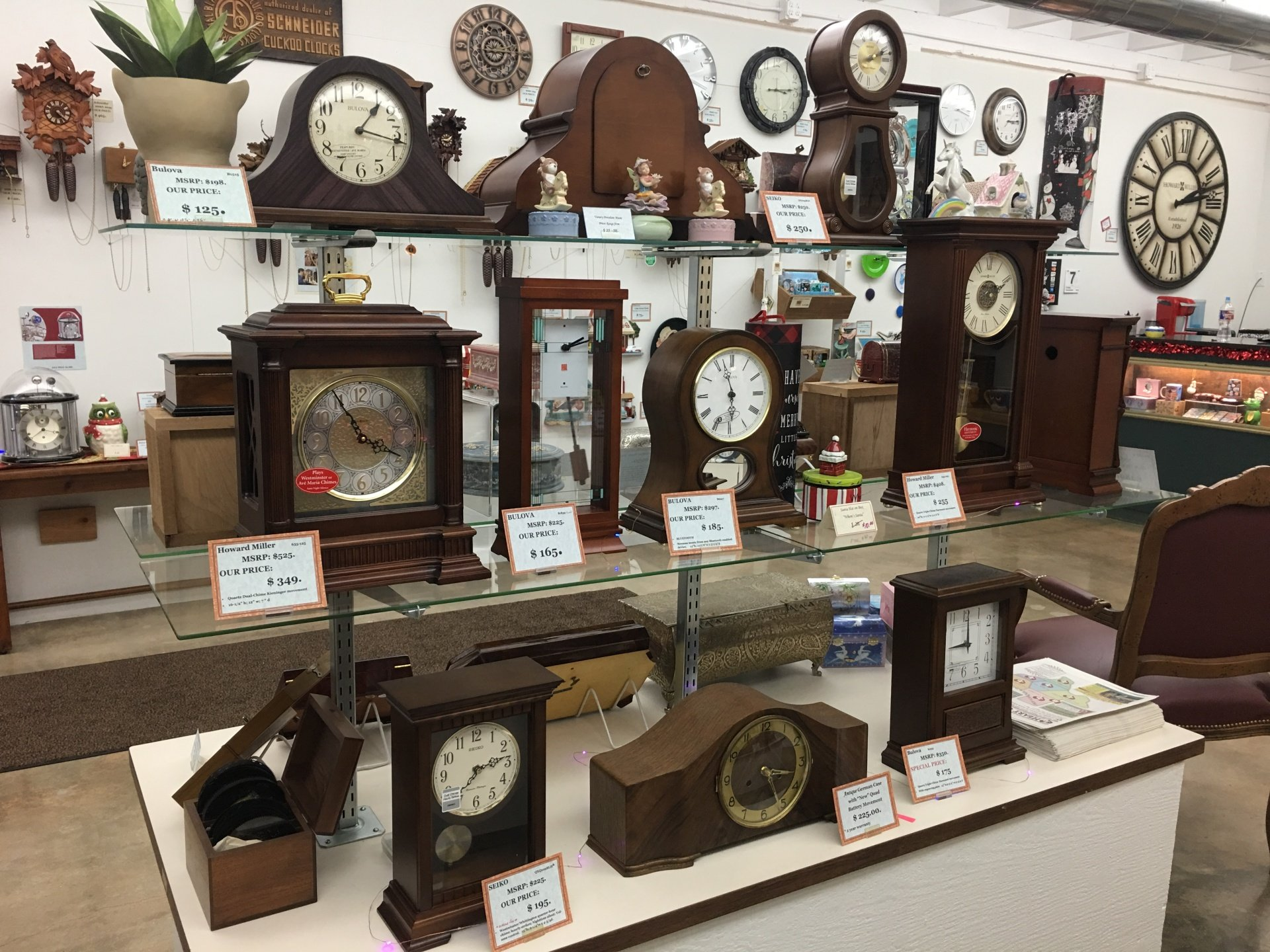 Clock Repairs And Sales Austin Tx Mcguire S Clocks