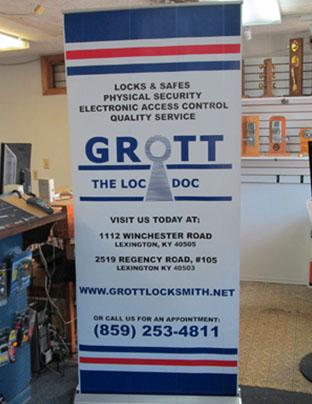 Home   Grott's Locksmith Center Inc    Lexington, KY