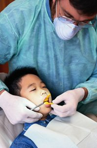 Dental Emergency — Boy at the Clinic in Owensboro, KY