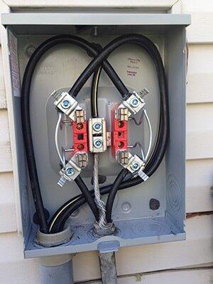 sunken meter wire repair lockland oh cullen electric rh cullenelectriccincinnati com wiring house to generator wiring house battery in van