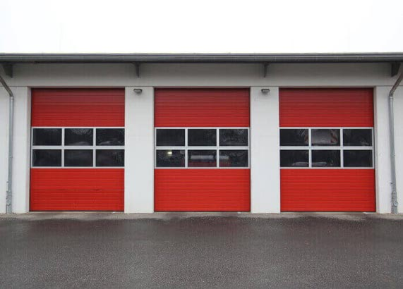 Fire Station Garage Door u2014 Garage Door Service in Pilot Point TX 76258  sc 1 st  Tru-Roll Overhead Door & Garage Door Repair u0026 Install | Aubry TX | Tru-Roll Overhead Door