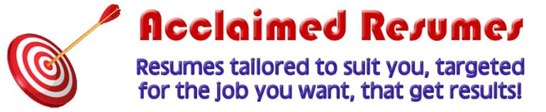 Resume Services   Hoffman Estates, Illinois   Acclaimed Resumes Inc