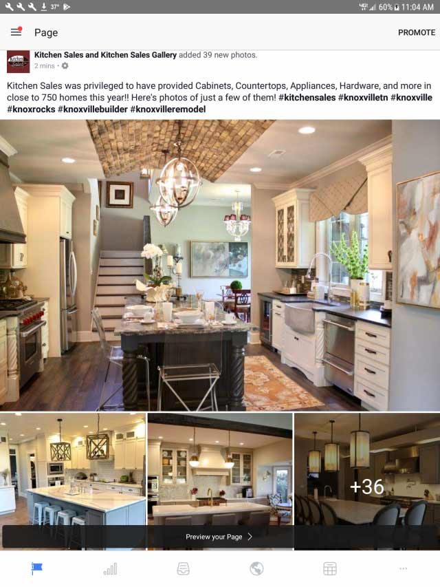 2017 Projects by Kitchen Sales Knoxville TN
