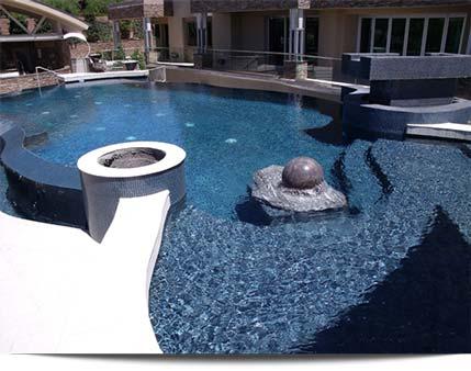 Residential pool work heritage pool plastering inc - How soon can you swim after plastering pool ...