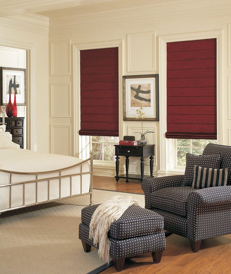 roman shades window treatments   Memphis, TN   Wholesale Shutters ...