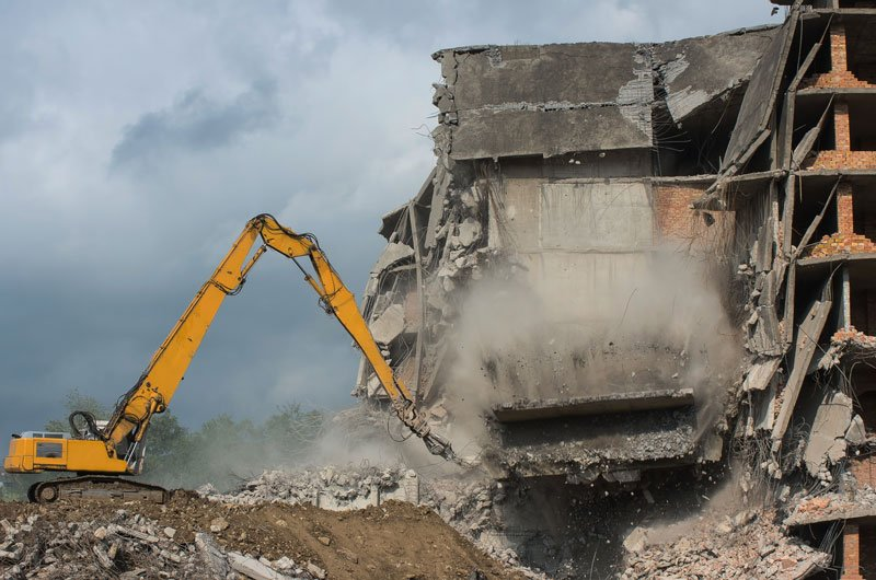 Services   Adkins Demolition - Knoxville, Tennessee