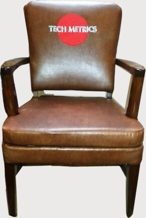 Reupholstered Chair   Upholstery Company In Portland, Maine