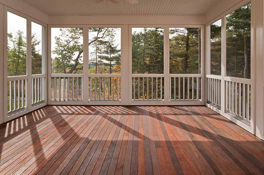 Should You Stain Or Paint Your Wooden Deck Diversified Painting