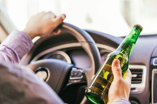 DUI Testing — Driving While Holding A Bottle Of Alcohol in Los Angeles, CA