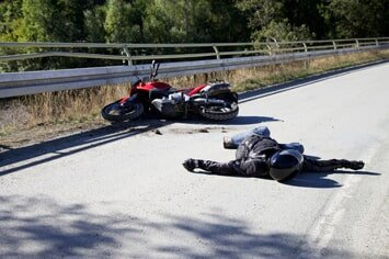 Personal Injury Attorney � Rider Fell From His Motorcycle in Bakersfield, CA