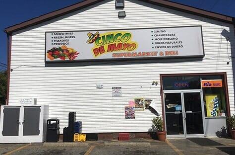 Customer Service Booth Cinco De Mayo