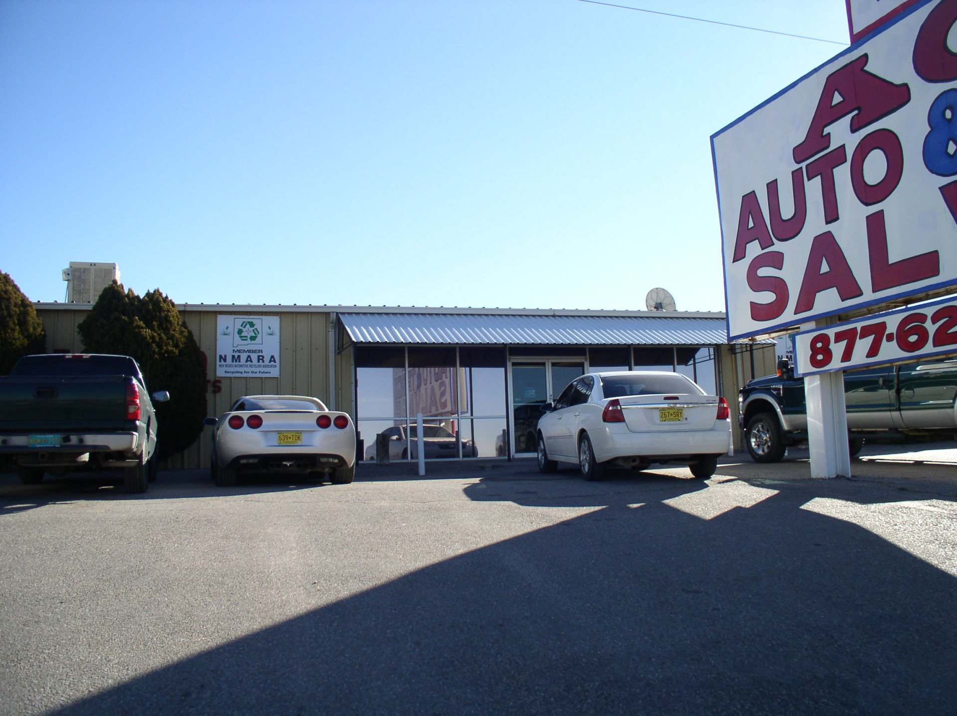 Ace Auto Salvage >> Testimonials Ace Auto And Truck Salvage Albuquerque Nm