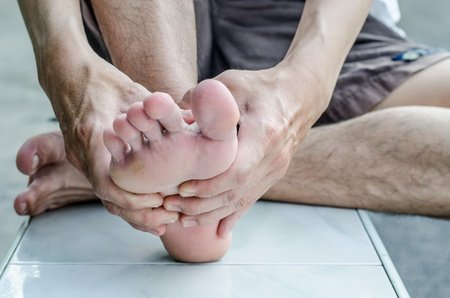 male foot care
