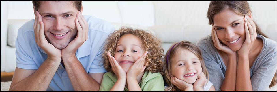 Happy family — cosmetic dentistry in Brooklyn, NY