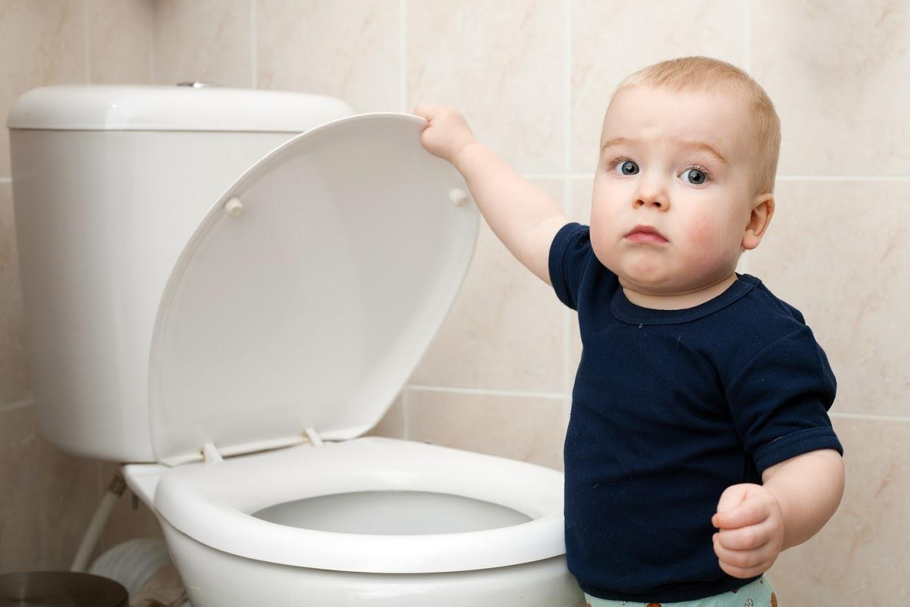 toilet flushes slow and gurgles