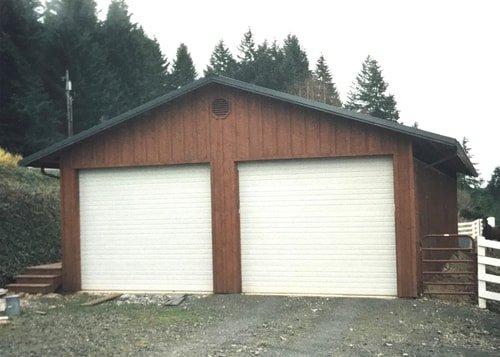 Garage Doors Chehalis Wa Jorstad S Metal Buildings Llc