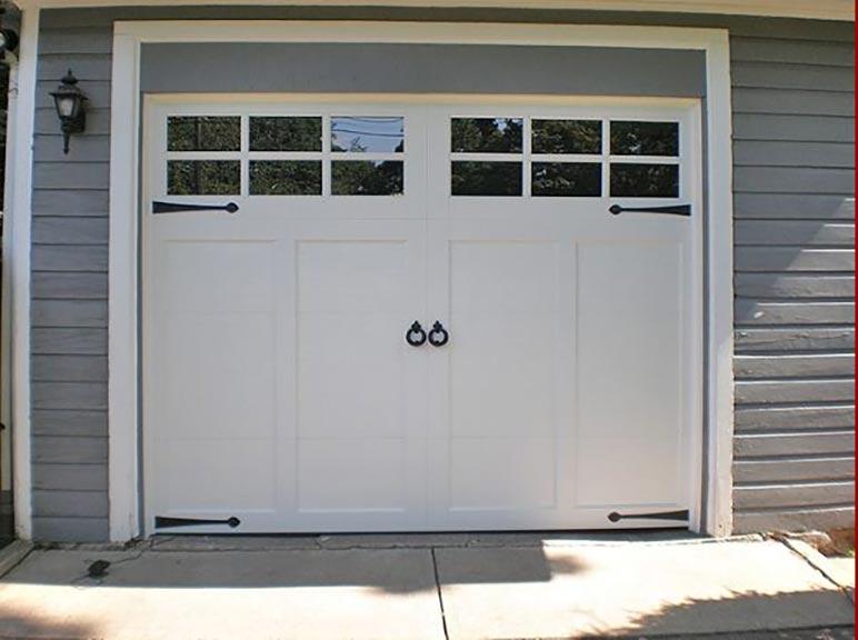 White Door U2014 Garage Doors And Openers In Hackensack, NJ ...