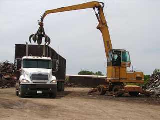 Truck and Crane — Buy Scrap Metal in Saginaw, MI