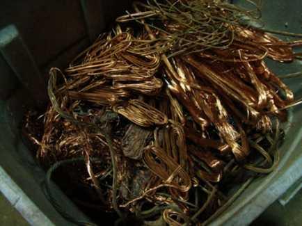 Scrap Copper — Buy Scrap Metal in Saginaw, MI