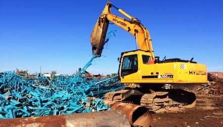 Company Crane — Buy Scrap Metal in Saginaw, MI