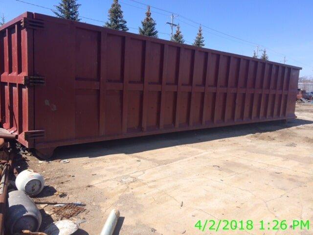 Company Container Box — Buy Scrap Metal in Saginaw, MI