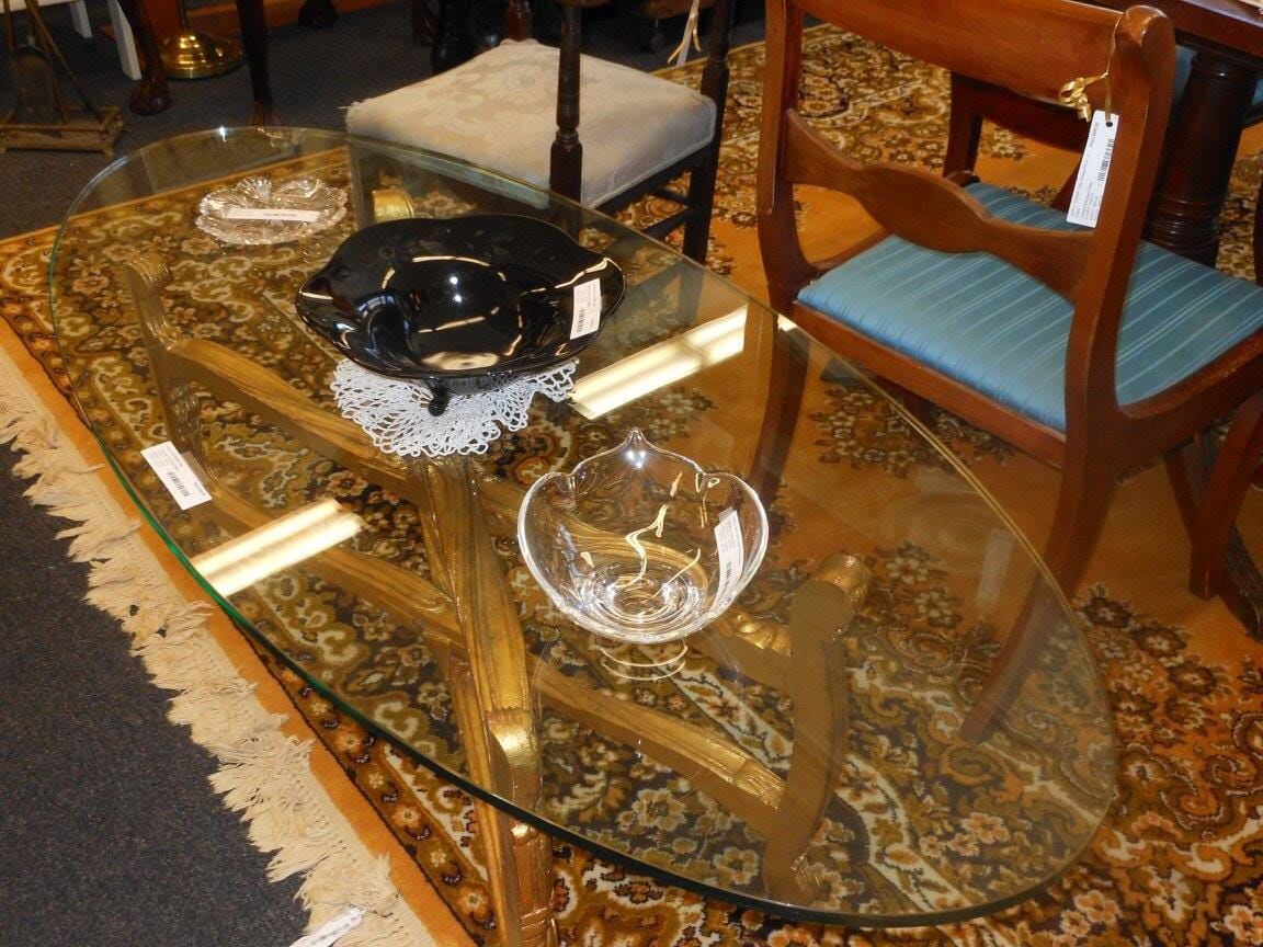 Superbe Glass Table   Furniture In Concord NH