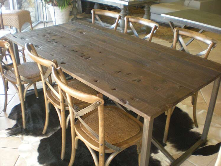 Olewood Antiques Dining Table   Florida Dining Room Furniture In Naples, FL