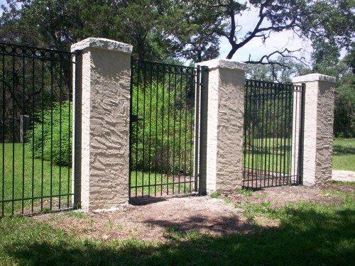 Masonry San Antonio Tx Alamo Fence Co Of San Antonio