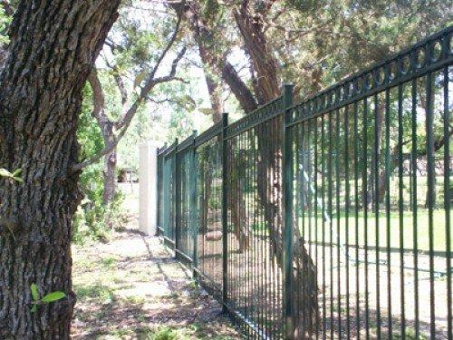Custom Iron Fence San Antonio Tx Alamo Fence Co Of