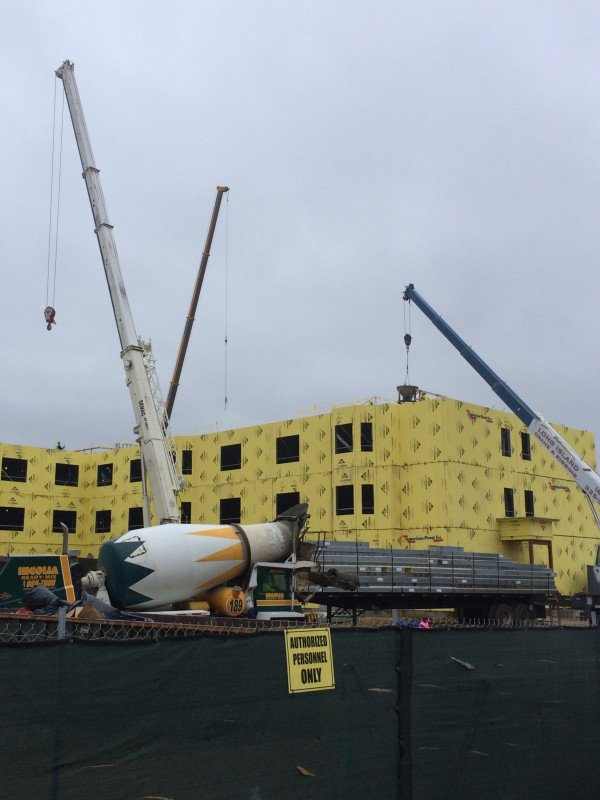 Three Cranes Constructing An Assisted Living Community In Farmingville